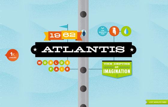Atlantis, from Lost World's Fairs