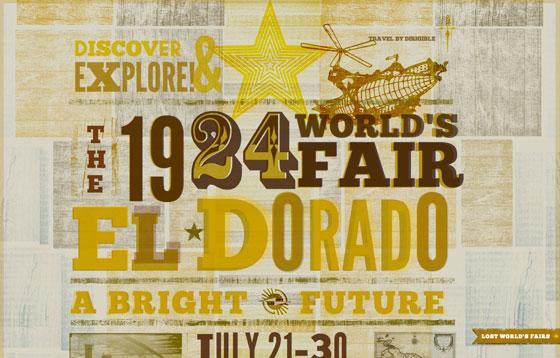 El Dorado, from Lost World's Fairs