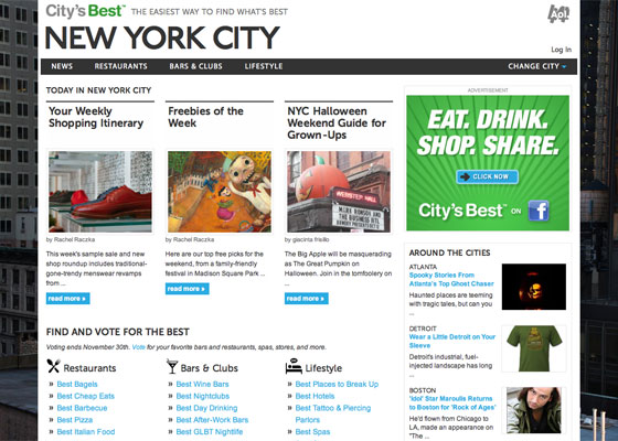 City's Best: New York City