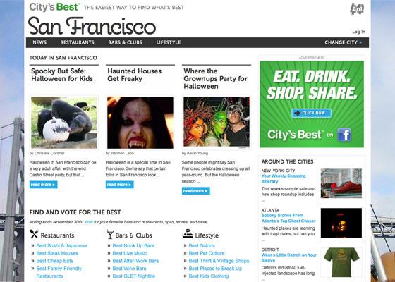 Screenshot of City's Best: San Francisco