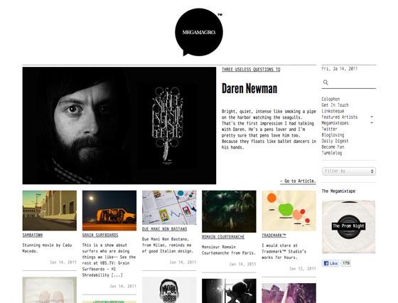 Screenshot of megamagro.com