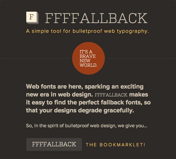 Screenshot of FFFFALLBACK