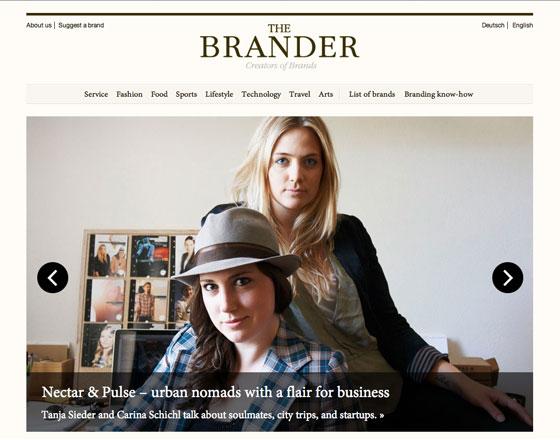 Screenshot of The Brander
