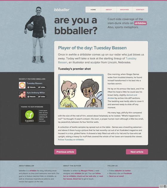 The bbballer website, for starters