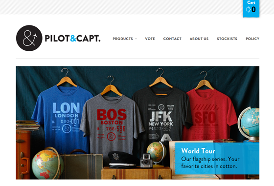 Screenshot of Pilot and Captain