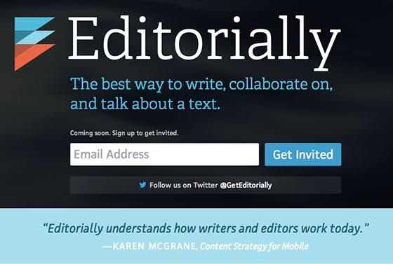 Editorially screenshot