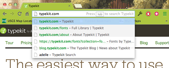 OpenSearch functionality in Chrome