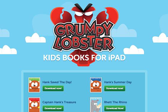 Grumpy Lobster screenshot