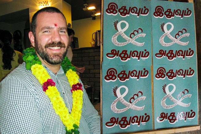 Paul at Type Camp India