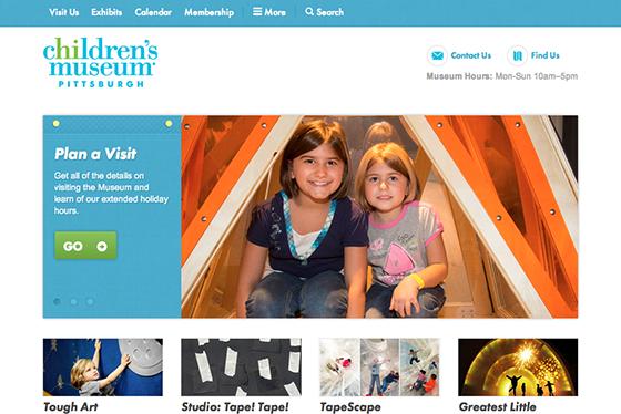 Children's Museum of Pittsburgh screenshot