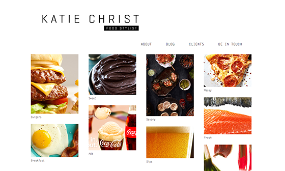 Katie Christ website