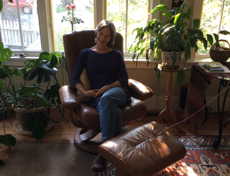 PLACEHOLDER: Carol Twombly at home. Photo by Tamye Riggs.