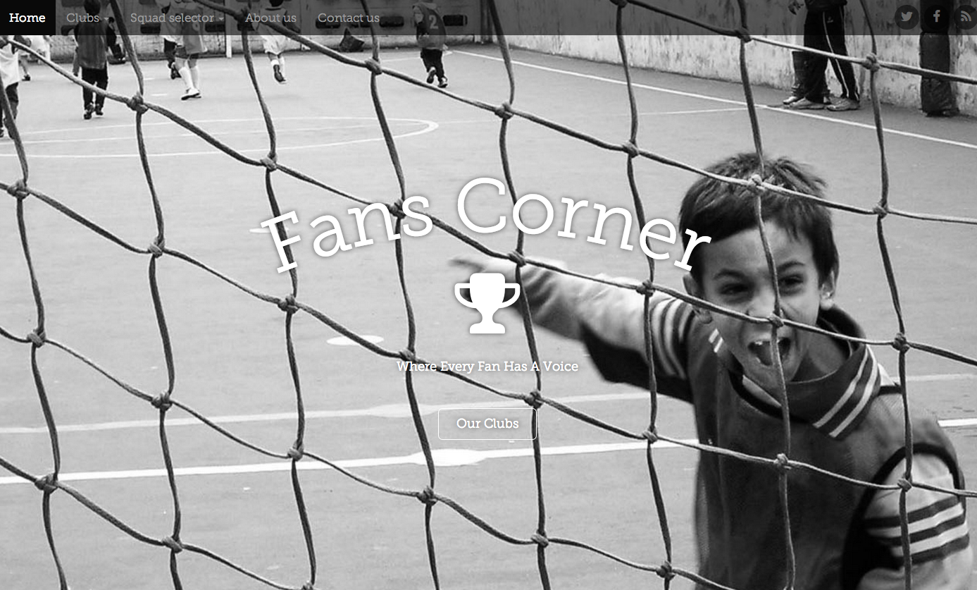 Fans Corner website