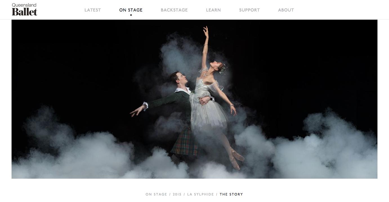 Queensland Ballet website
