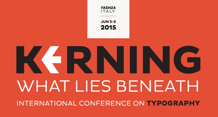 Kerning conference on typography