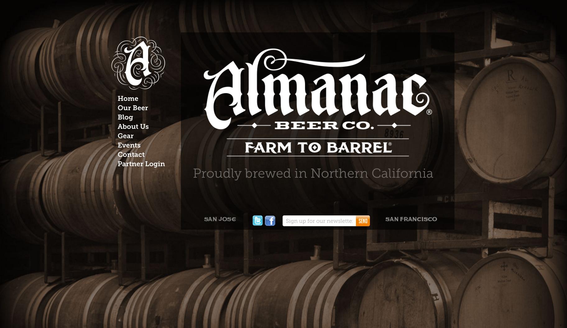 Almanac website