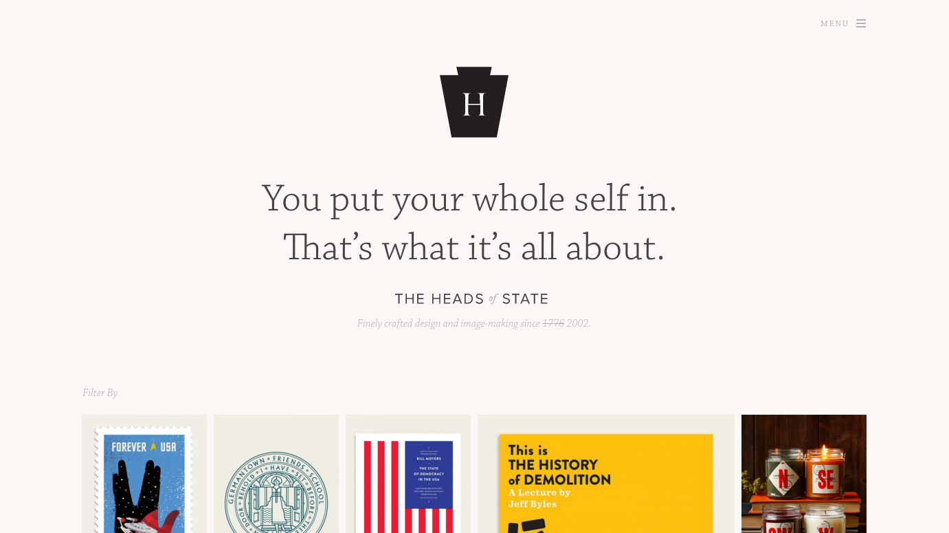 Heads of State homepage