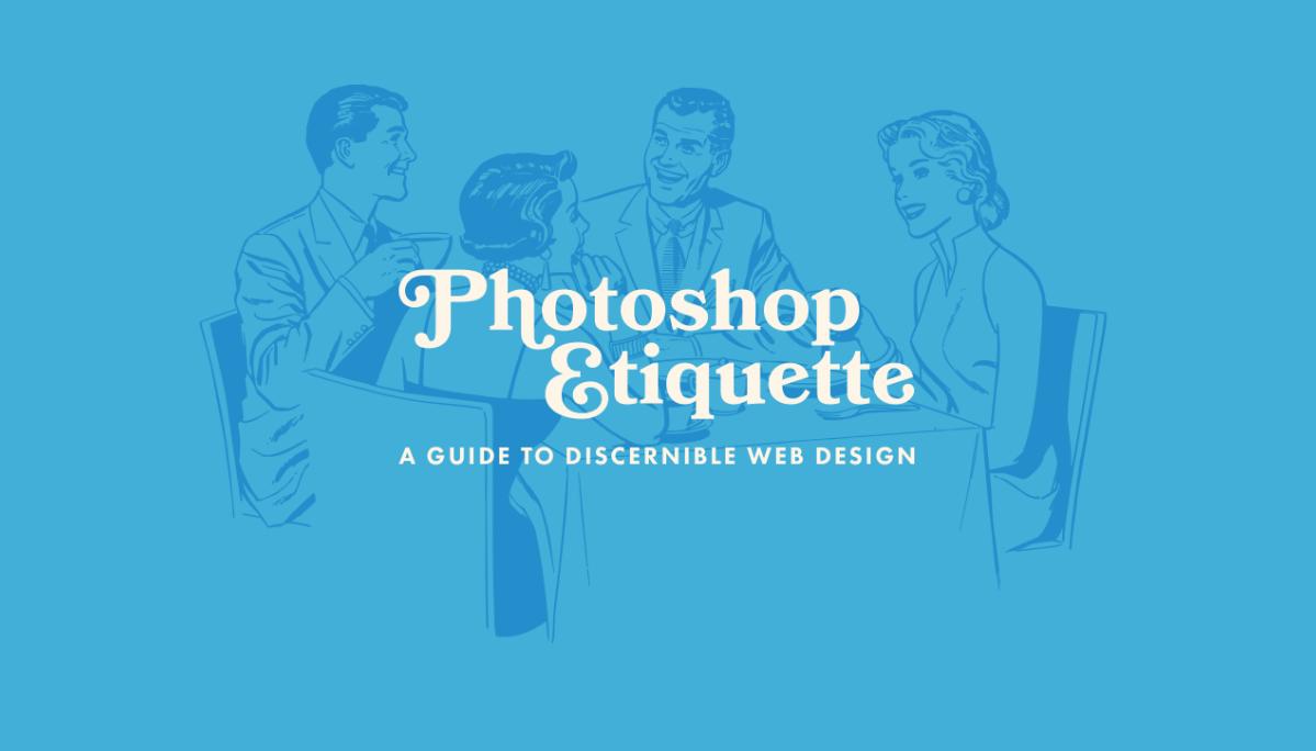 Photoshop Etiquette website