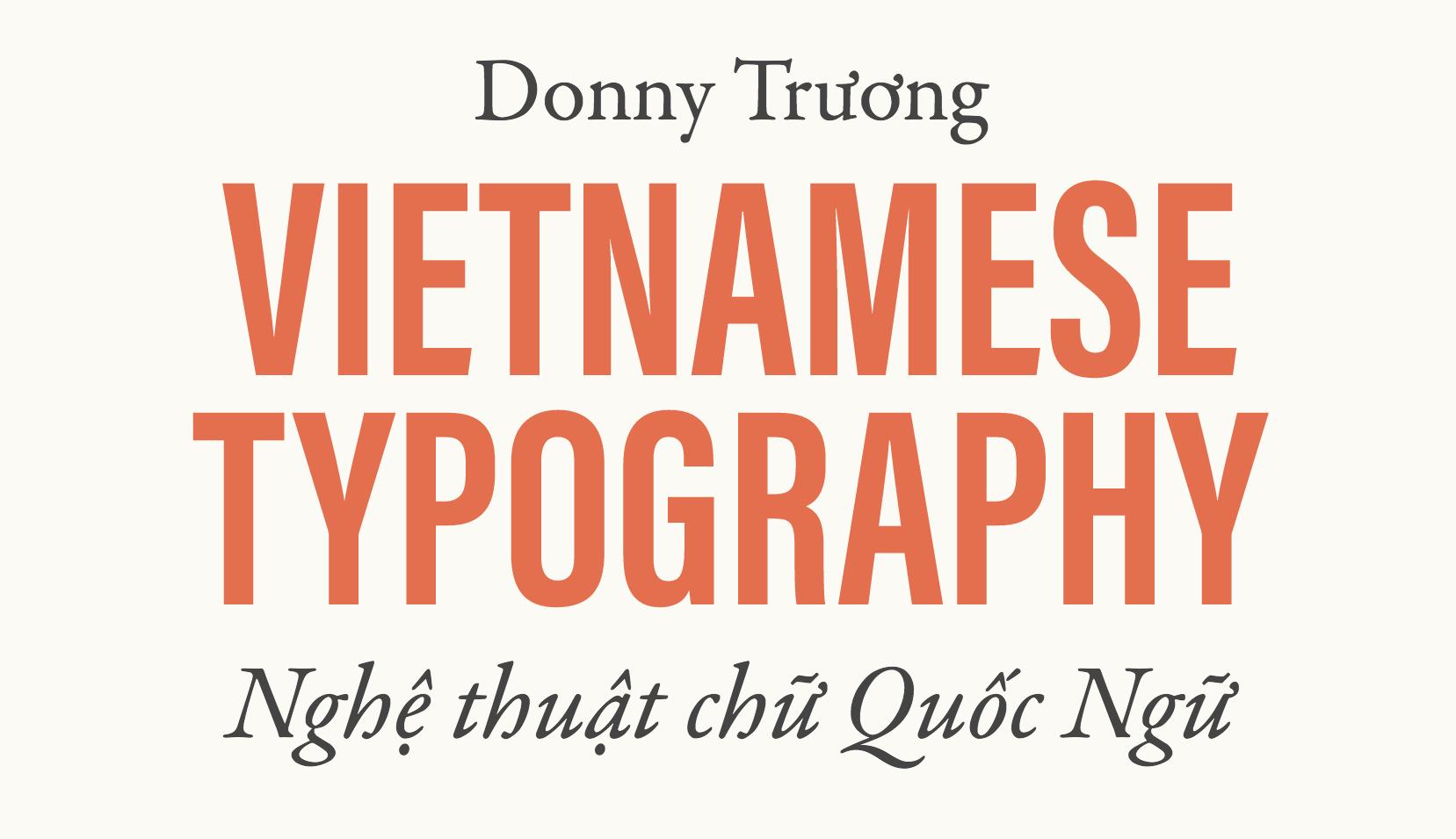Vietnamese Typography website