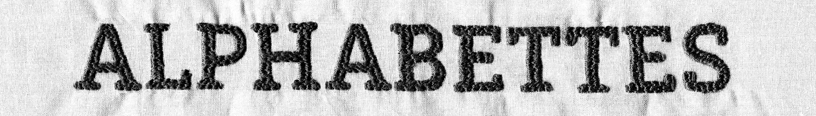 Alphabettes blog header