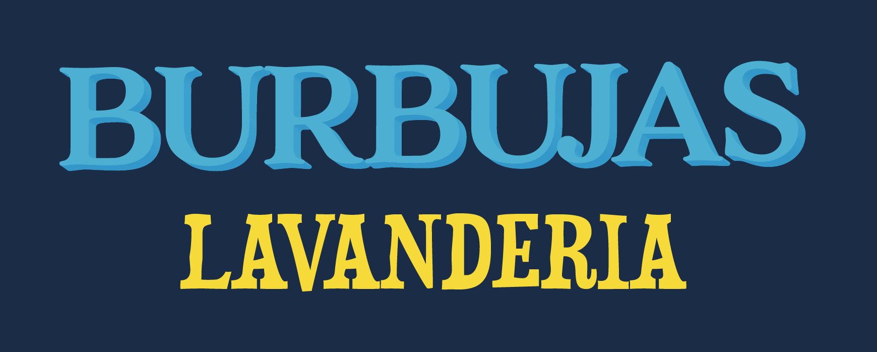 Type specimen with Burbujas in AdornS and Lavanderia in Duality