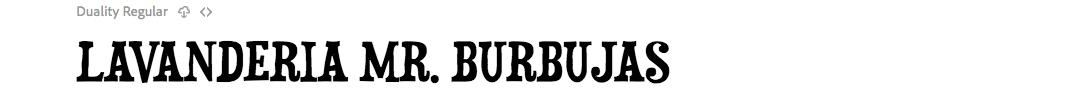 Mr Burbujas in Duality