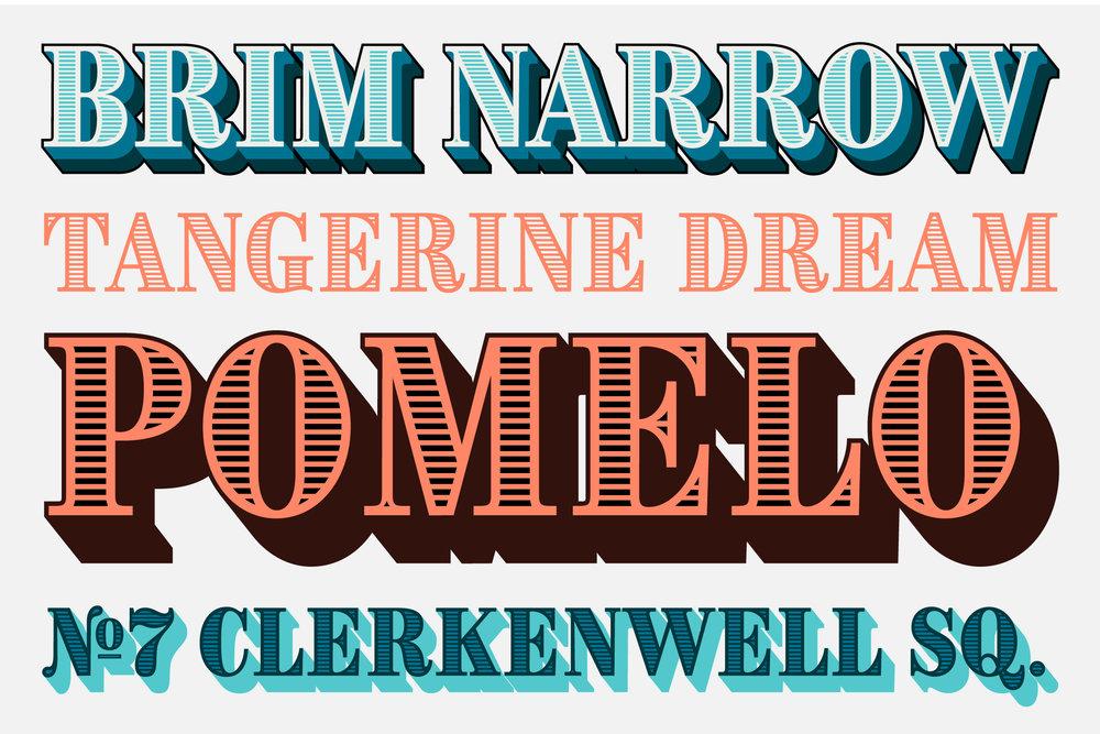 Brim Narrow from Jamie Clarke Type