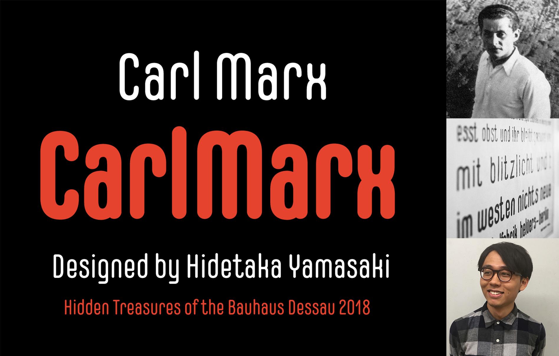 CarlMarx type specimen