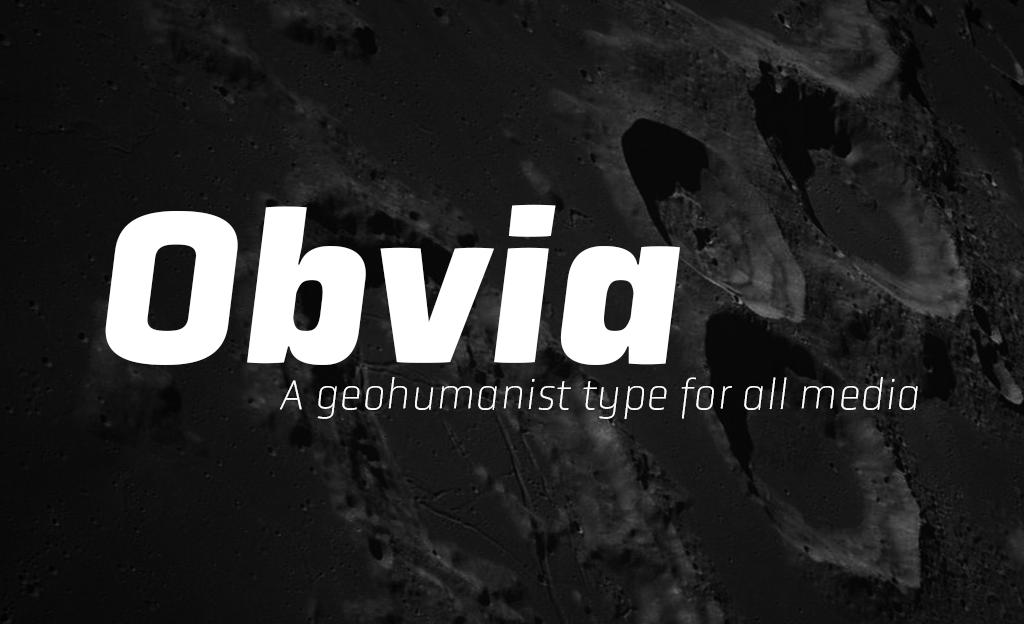 Obvia from TypeFolio