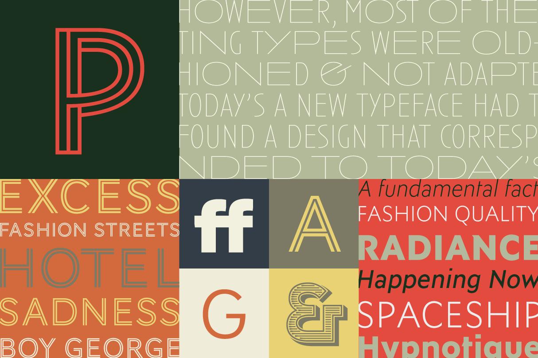 Display sans-serifs from Typofonderie